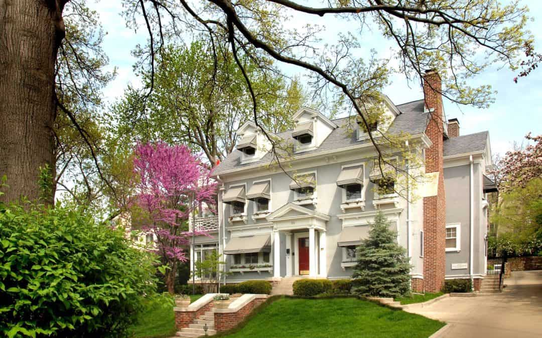 Southmoreland on the Plaza Listed by VisitKC as a Top Bed & Breakfast